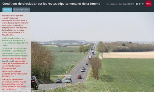 site info route 80